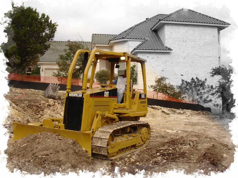 Lot Levelling & Site Clearing, click to open slideshow.